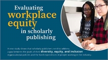 INFOGRAPHIC: Evaluating Workplace Equity in Scholarly Publishing